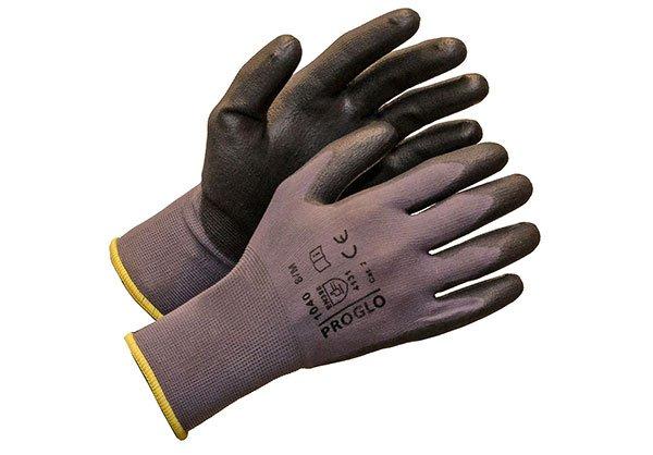 Nylon/Spandex-sormikas PU-Pinnoitettu (1040), 12kpl nippu
