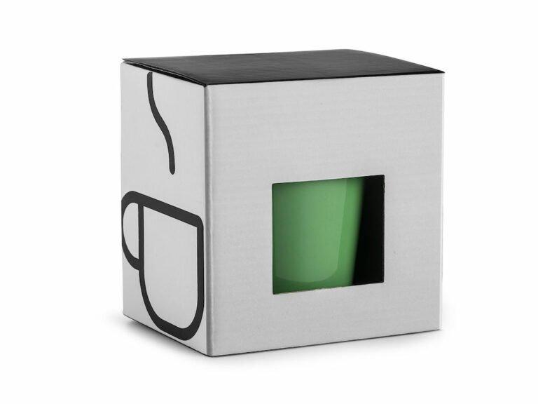 Laatikko 1:lle mukille, valkoinen