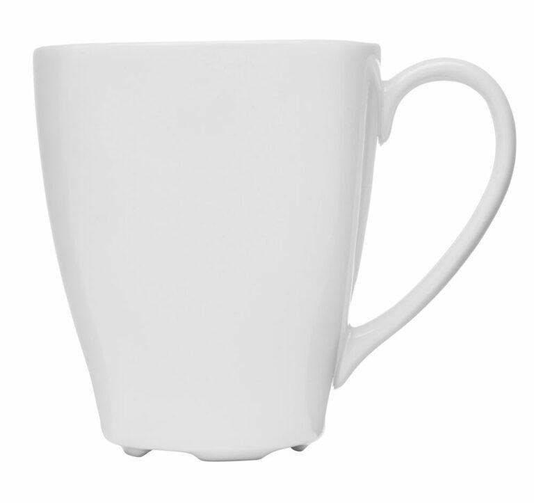 Barista-muki, valkoinen