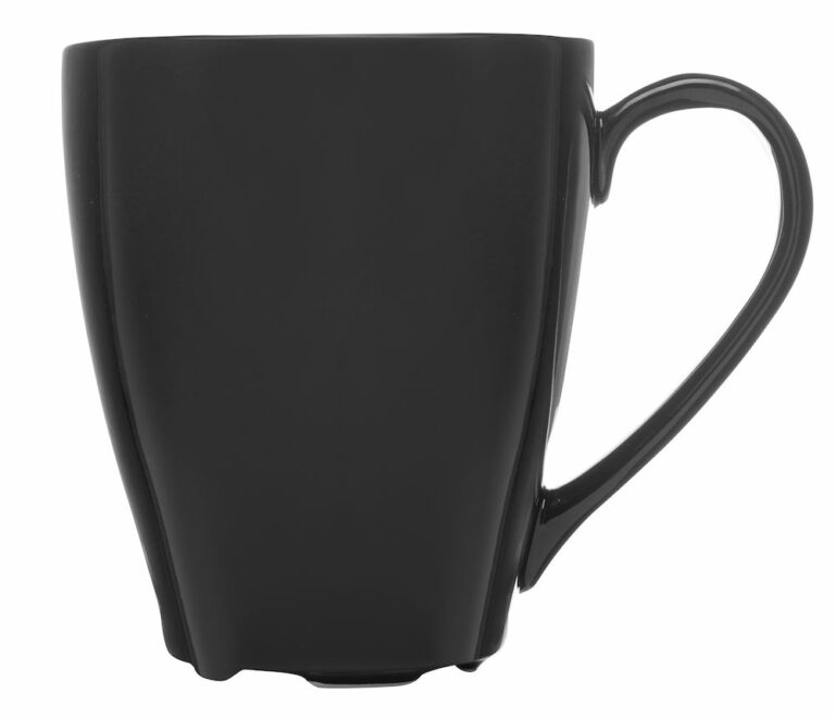 Barista-muki, musta