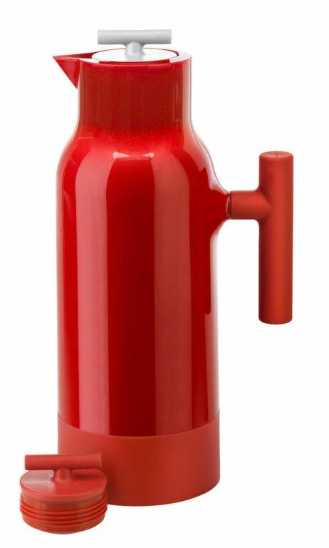 Accent kahvikannu, punainen, 2 korkkia