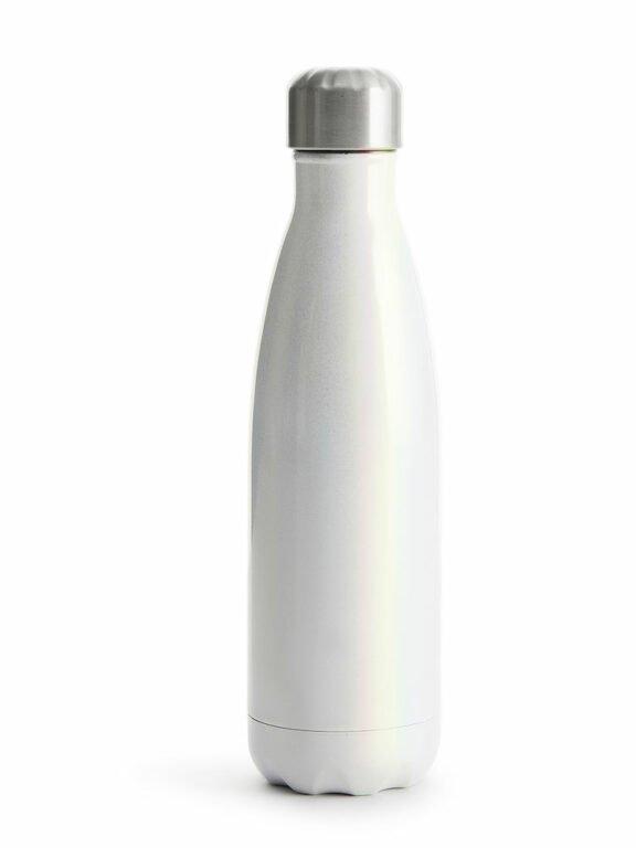 Teräksinen juomapullo 500ml, helmi