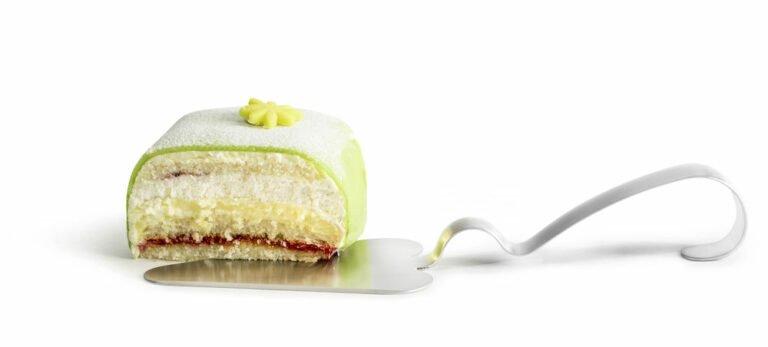 Kakku-/piirakkalapio, ruostumatonta terästä