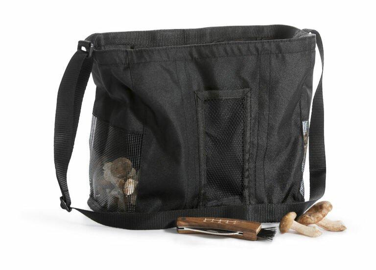 Sienisetti: sieniveitsi ja laukku