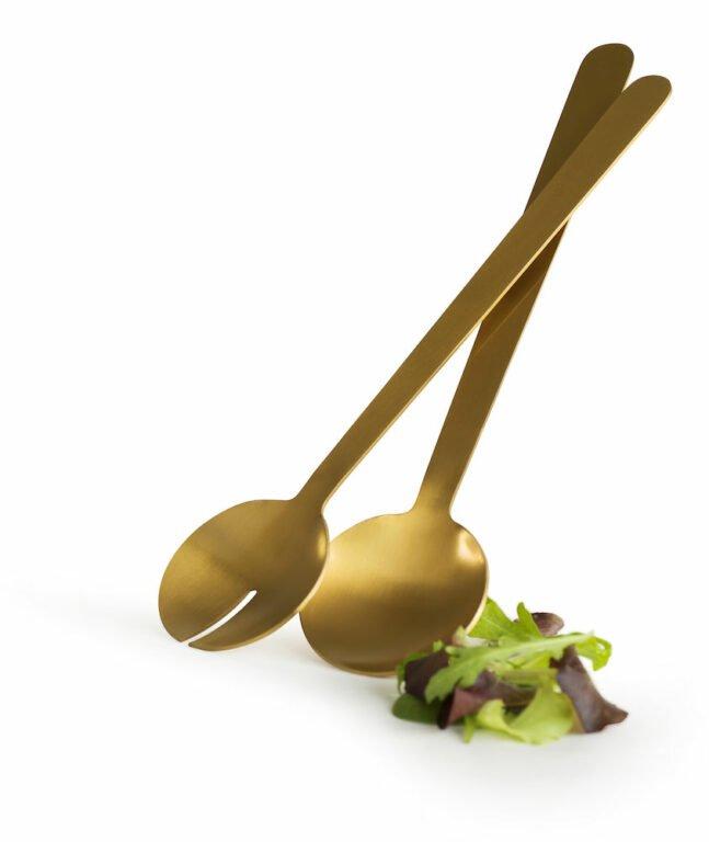 Salaatinottimet, kulta