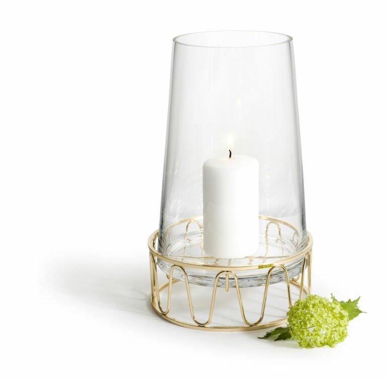 Kynttilälyhty/Maljakko kulta