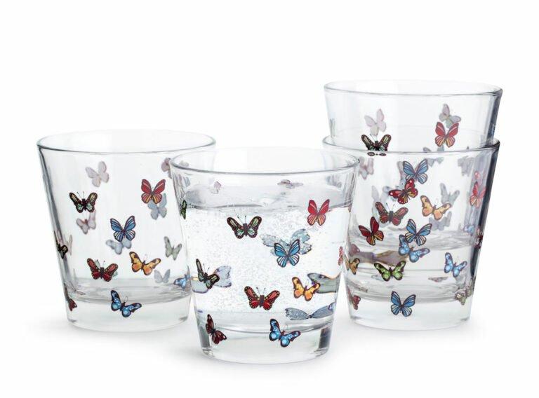 Butterfly lasi, 4 kpl