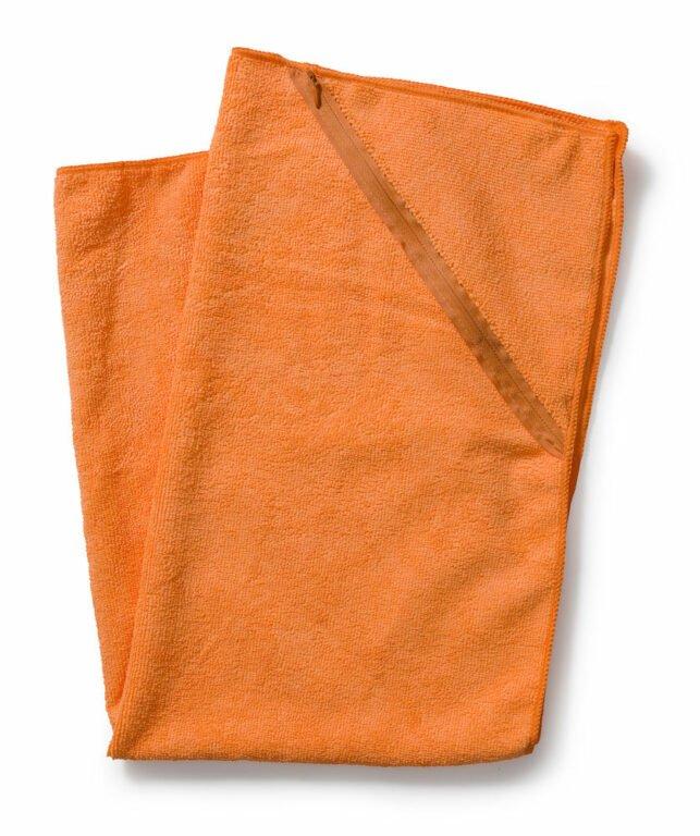 Taskullinen treenipyyhe, oranssi