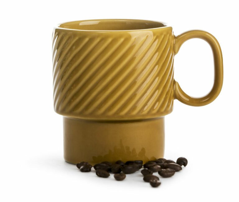Coffee & More muki, keltainen