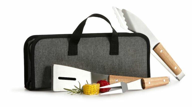 BBQ-setti 3-osaa + laukku