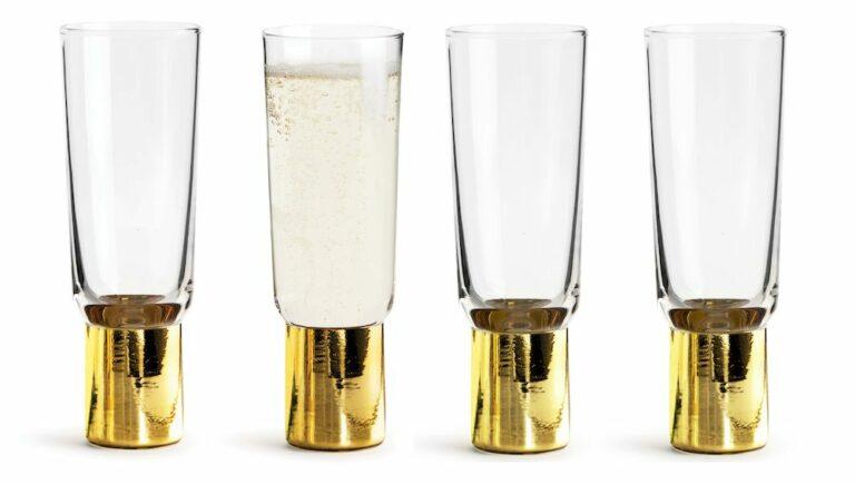 Happy Holiday Club shampanjalasi 4-pack