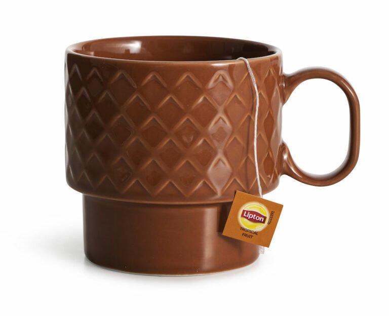 Coffee & More teemuki, terrakotta