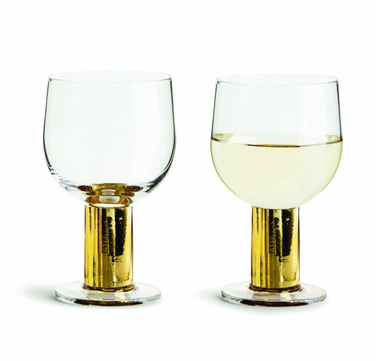 Club viinilasi kulta 2-pack