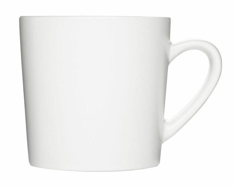 Aroma-muki, valkoinen