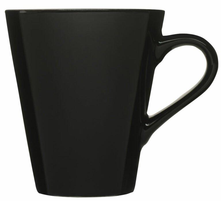 Jamaica-muki, musta
