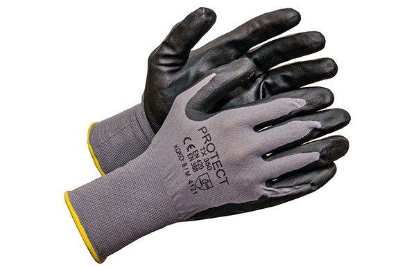Vaahdotettu nitriili käsine (TX350), 12kpl nippu