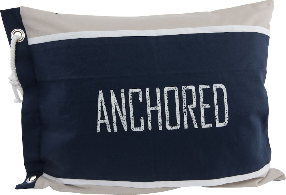 Anchored tyynyliina