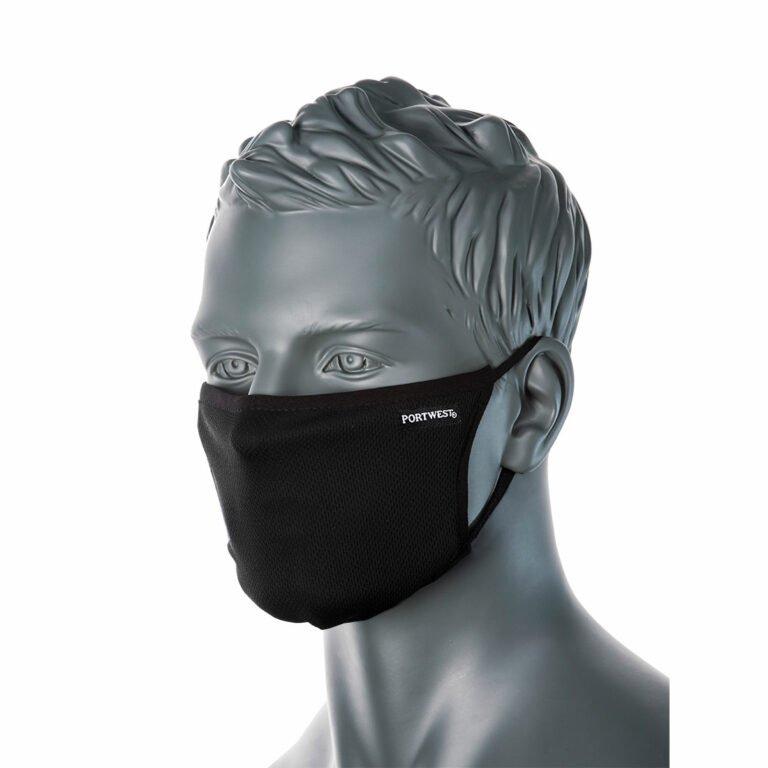 Antimikrobinen maski 3-kerroksinen 25 kpl